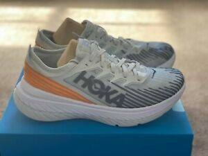Men's Hoka One One Carbon X-SPE road running shoes UK8.5
