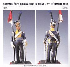METAL MODELES CLPL MM67 - CHEVAU-LEGER POLONAIS DE LA LIGNE 7eme REGIMENT 1811