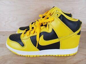 Nike Dunk SP Iowa High Varsity Maize Black/Yellow CZ8149-002 Mens Size 8