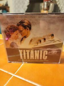 Titanic: 20th Anniv Soundtrack - James Horner (2020 La-La Land - Ltd Ed 4xCD)