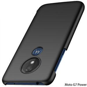For Motorola Moto G8 Power G7 Plus Shockproof Slim Hard PC Matte Back Cover Case