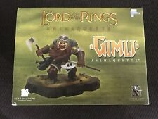 Lord Of The Rings Gimli Animaqutte Statue Gentle Giant Lotr NEW In OPEN BOX