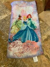 Disney Princess Born to Dream Camping Sleeping Bag Cinderella Ariel Tatiana