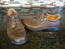 ECCO ~ Men's Casual Shoes ~ Moc Toe Tie Leather Comfort Oxford ~ 45/11-11.5