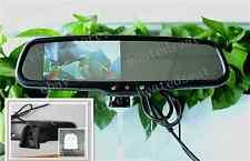 normaler Spiegel,Auto Rückfahrsystem 11 cm LCD Rückspiegel Monitor m.