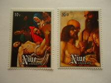 Niue 1978 SG241-2 10c-20c MNH Easter Paintings