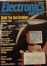 Electronics Now Magazine November 1994 Build Text Grabber, Tesla Coil, CMOS TTL