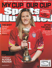 Alyssa Naeher JSA COA SIGNED Sports Illustrated World Cup 2015 SI AUTOGRAPHED
