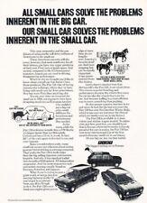 1972 1973 Fiat 128 Original Advertisement Print Art Car Ad K36
