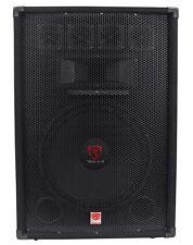 "Rockville RSG15.4 15"" 3-Way 1500 Watt 4-Ohm Passive DJ/Pro Audio PA Speaker"