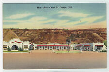 St George Utah Milne Motor Court on US 91 gateway to Zions etc