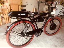 cruiser ebike, electric bike 100 WATT 48V