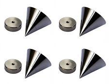 4x PIEDINO CASSE Hi End REGOLABILE spikes casse diffusori audio punta hi-fi