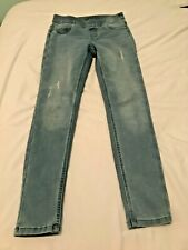 Justice for Girls Mid Rise Jean Leggings Size 14