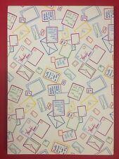 FENDI FASHION Maxi Blocco Notes scuola vintage A4 righe - Stiassi memo pad