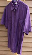 Woman's Purple Shirt by Apparenza; Size:  XL