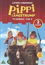 2 DVD Pippi Langstrumpf Långstrump SCHWEDISCH Astrid Lindgren TV-SERIE VOL. 3