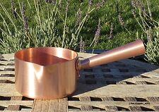 Mauviel 1830 Copper 12 cm Sugar Pot, Made in France, RARE SIZE