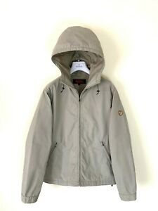 STUNNING Men's FJALLRAVEN Nordli G-1000 Jacket Coat SZ S - M Beige Hooded Anorak