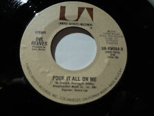 DEL REEVES NM Pour It All On Me 45 Belles of Broadway UA-XW564-X vinyl 7""