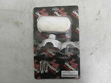 Harley-Davidson L.A. Choppers Hefty Riser System Natural Chrome Pair 0602-0622