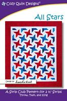 All Stars Quilt Pattern by Cozy Quilt Designs