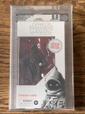 2019 Hasbro Star Wars Black Series 6? Offworld Jawa 1st Ed AFA 8.0U Archival New