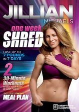 Jillian Michaels: One Week Shred  - DVD - NEW Region 4
