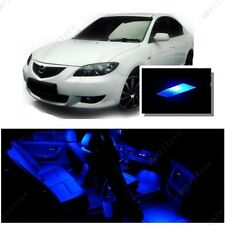 For Mazda 3 2003-2009 Blue LED Interior Kit + Blue License Light LED