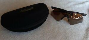 Oakley M Frame Matte Black - Gold Iridium Vented Heater - NEAR MINT