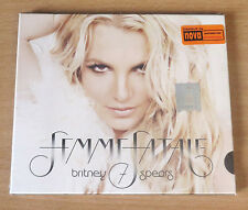 Britney Spears - Femme Fatale CD Digipak 2011 Album Rare Romania Edition Sealed