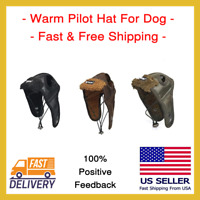 Warm Dog Pet Pilot Hat Winter For Pet Aviator Free Shipping New Cold Weather