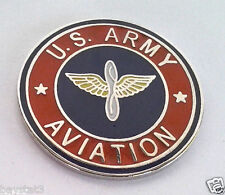 *** US ARMY AVIATION ***  Military Veteran US ARMY Hat Pin 15634 HO