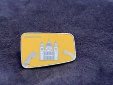Very Rare Olympic Pin Badge London 2012 Samsung Sponsor Partner St Paul's Yellow