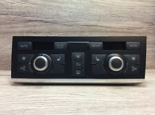 AUDI A6 C6 4F A/C HEATER  CONTROL PANEL WITH  HEATED SEAT SWITCHES 4F2820043Q