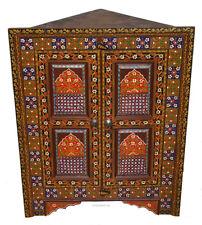 antik-look orient schrank eckschrank regal Corner cabinet Relief malerie MGL