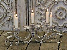 Chic Antique Kerzenleuchter Kerzenhalter Shabby Vintage Nostalgie Brocante