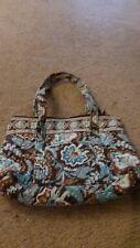 Vera Bradley Mandy Java Blue RETIRED Handbag