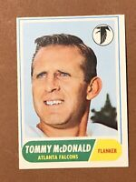 1968 Topps Football Tommy McDonald Card #99 NM-MT HOF Hall Of Fame Falcons