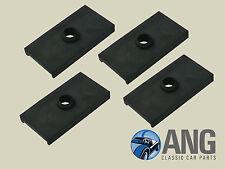 MGA, MGB, MGB-GT, MGC REAR AXLE LEAF SPRING SADDLE PLATE RUBBER PADS x 4 ACG5002