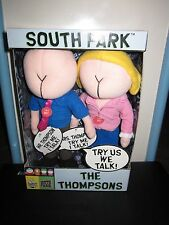 South Park Talking Thompsons (Buttheads) Plush Toy Doll Figure By Fun 4 All Nwt
