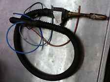 esab 600 amp mig welding torch with wire feeder and 35 foot power cord