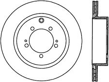 Disc Brake Rotor-SE Rear Centric 121.46075 fits 08-10 Mitsubishi Lancer