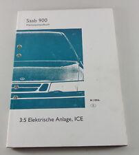 Werkstatthandbuch Saab 900 Elektrische Anlage, ICE Modelljahr ab 1994