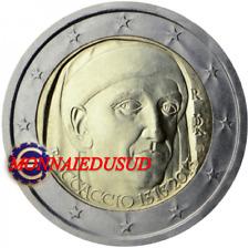 2 Euro Commémorative Italie 2013 - Giovanni Boccaccio