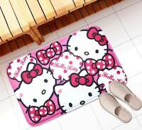 "Super Cute Hello Kitty Doormat Bathroom Kitchen Mat Rug Pad Carpet 18"" x 23"""
