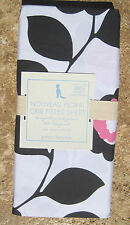 Pottery Barn ~ Nouveau Floral Pink Crib Sheet~ Baby ~ Pbkids