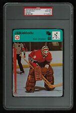 PSA 10 KEN DRYDEN 1979 Finnish Sportscaster Hockey Card #1145 (The only PSA 10)