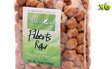 72oz Gourmet Style Bags of ExtraLarge Premium Raw Filberts/Hazelnuts [4 1/2 lbs]