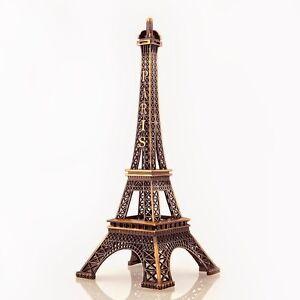 "Bronze Eiffel Tower Paris France Display Centerpiece, 6"", 10"", 15"", 20"", 24"""